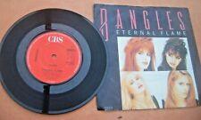Vinyl 45 1988 Bangles  Eternel Flame CBS Label Bangs 5 VG+ Free UK Postage