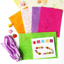 Colorful Flower Non-woven Party Happy Birthday Decor Children's Day Garland LH