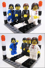 THE BEATLES MINIFIGURES Custom Lego Abbey Road Zebra Crossing Fab Four 500+ sold