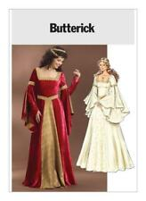 Butterick Sewing Pattern 4571 Floor-Length Flared Sleeves Dress Size 6-12 Uncut
