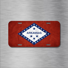 Arkansas State Flag Vehicle License Plate Auto Car Little Rock USA Fayetteville