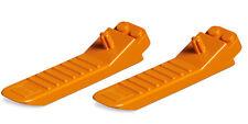 NEW LEGO - x2 Lego Separator - Brick and Axle Separator - Color: Orange