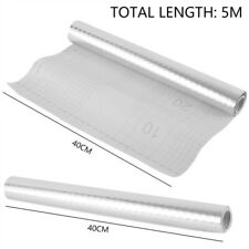 5M Auto Adhesivo Impermeable a prueba de aceite de cocina Pared Adhesivo PVC Papel de Aluminio