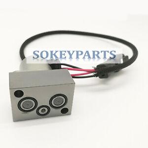 702-21-55901 Hydraulic Pump Solenoid Valve For Komatsu PC200-7 PC200-8 PC210-8