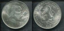 CSSR TSCHECHOSLOWAKEI 1976 - 100 Kronen in Silber, stgl. - JANKO KRAL