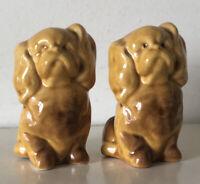 Vintage Dog Salt & Pepper Pots / Shakers, Novelty Cruet Set