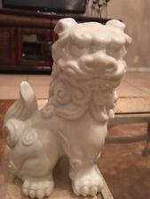 Feng Shui Foo Dog Porcelain M C I Japan