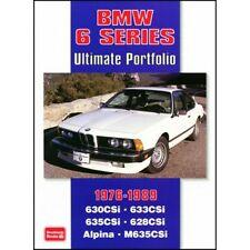 BMW 6 Series Ultimate Portfolio 1976-1989 book paper