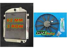 FOR Chevy/GMC pickup/truck W/Small Block V8 1937-1938 MT ALUMINUM RADIATOR +FAN