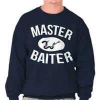 Master Baiter Funny Cool New T Shirt Gift Ideas Fishing Sweatshirt