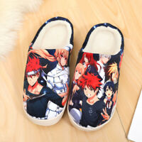 Anime Shokugeki no Souma Winter Warm Soft Plush Antiskid Indoor Home Slippers