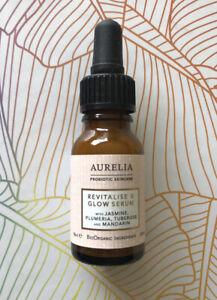 AURELIA Probiotic Skincare - Revitalise & Glow Serum - 15ml - Brand New