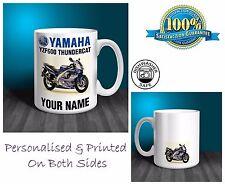 Yamaha YZF600 Thundercat Motorbike Personalised Ceramic Mug Gift (MB072)