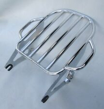 USED Detachable Two-Up King Size Luggage Rack for 2009+ Harley Davidson