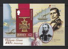 JERSEY 2006 Victoria Cross foglio in miniatura montato Nuovo di zecca.