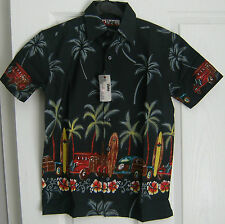 Party Short Sleeve 100% Cotton Shirts (2-16 Years) for Boys