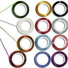 10pcs Mixed Colours Pretty Rolls Striping Tape Line Nail Art Decoration Sticker