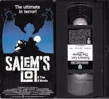 Salems Lot: The Movie Stephen King VHS, 1993 Cable TV Cut Dark Tower 112 mins