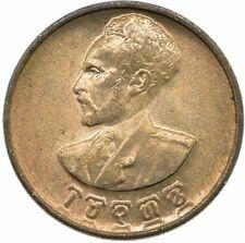 More details for ethiopia 5 cents/santeem 1944 unc #wt23341