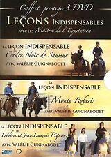 Coffret Prestige 3 DVD - Leçons Indispensables : Les Maitres de L'équitation