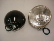 "1932 Ford Street Rod Head Lamps 32 10"" Black Headlights"