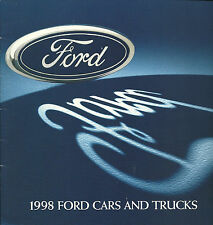 1998 FORD Brochure : EXPLORER,F Series Truck,RANGER,F-150,BRONCO,MUSTANG,TAURUS,