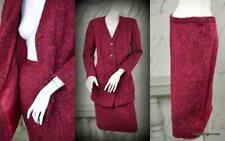 vintage 70's 80's mohair wool Utah Tailoring couture dress suit skirt jacket M/L
