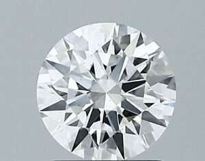 1.08 Ct Round Cut GIA Certified Lab Grown CVD Diamond E Color VS2 Clarity