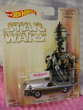➽STAR WARS '70 CHEVELLE DELIVERY wagon☆IG-88☆Bounty Hunter💫2017 Hot Wheels Pop