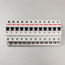 ABB Set: 12x S201-B16 Leistungsschutzschalter+1x Phasenschiene PS1/12+ Endkappen