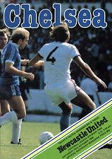 1980/81 Chelsea v Newcastle United, Division 2, PERFECT CONDITION