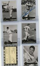 RALPH KINER 1994 FRONT ROW PREMIUM ALL TIME GREATS AUTOGRAPH 5 CARD SET PIRATES