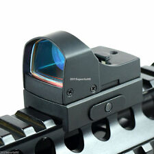 Micro Reflex 3 MOA Red Dot Sight Rifle Scope w/Weaver/Picatinny Rail 20mm Y52
