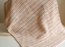 Hand Crocheted Baby Pram/Car Seat/Crib/Moses Basket Blanket