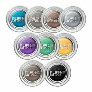 MAYBELLINE Color Tattoo 24hr Gel Cream Eyeshadow SEALED - various shades