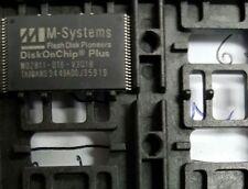 LOT OF 3 PCS. M-SYSTEMS MD2811-D16-V3Q18  DiskOnChip Millennium Plus, 16 MB
