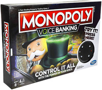 🔥🎁Monopoly Voice Banking Family Game 🎉🎄Chrismas Gift For Ages +8