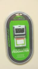 Sportline Step Distance Calorie Pedometer Goal Tracking Walk Hike Run