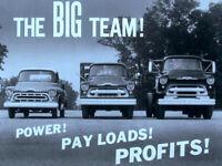 1957 Chevrolet Trucks Dealer Promo Power and Payloads - Film - MP4 CD