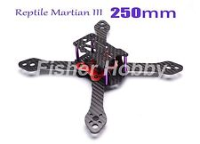 Carbon Fiber Reptile Martian III 250mm 4-Axis Quadcopter Frame 3.5mm Arm for FPV