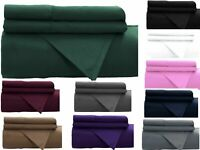 400/500/600 TC 100% EGYPTIAN COTTON EXTRA DEEP ONLY FITTED SHEET ALL SIZES 40CM