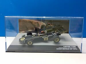 Lotus 72D F1 Great Britain GP 1972 #8 Fittipaldi IXO Altaya Eaglemoss 1:43