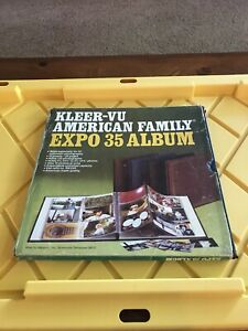 """Kleer-Vu American Family Expo 35 Album Holds 120 3.5X3.5"""" to 3.5X5.25"""" 10-sheets"""