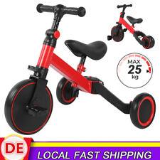 2in1 Kinder Lernlaufrad Dreirad Rutschfahrzeug Trike Gehhilfe von 1-3 Jahre NEU