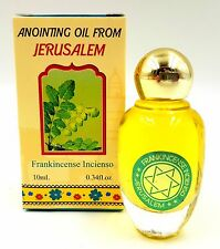 Frankincense Anointing Oil Jerusalem Blessed Oil From Israel Holy Land 10 Ml