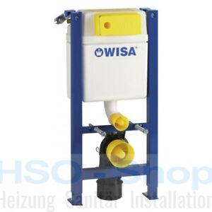 WISA WC Vorwandelement XT 83cm geringe Bauhöhe 38cm breit Betätigung vorne/oben