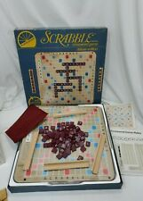 Vintage 1977 Selchow & Righter Deluxe Edition SCRABBLE Crossword Game Turntable