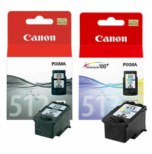 New Genuine Canon PG512 Black & CL513 Colour Combo Pack (512/513) VAT included