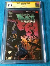 Batman: Shadow of the Bat #18 - DC - CGC SS 9.2 - Signed by Stelfreeze Blevins