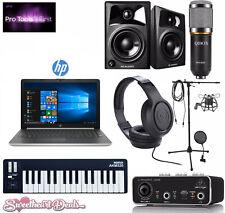 Home Recording Bundle - HP Laptop - Pro Tools Software - Studio Package